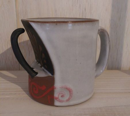 "Mug - Dimensions: 3.5"" x 3.5"" x 3.5"" - by A. Blair Clemo"