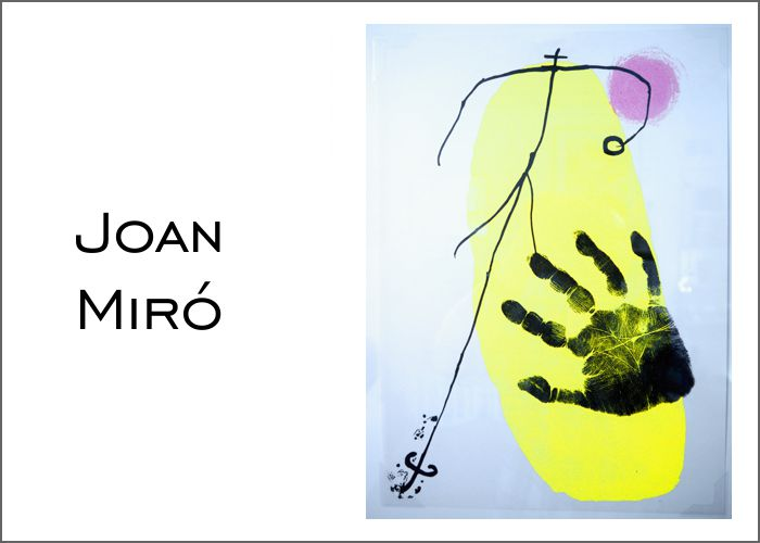 Joan Miró - Visual Artist at Cerbera Gallery