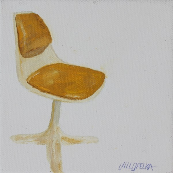 Yellow Chair - Title : Yellow Chair