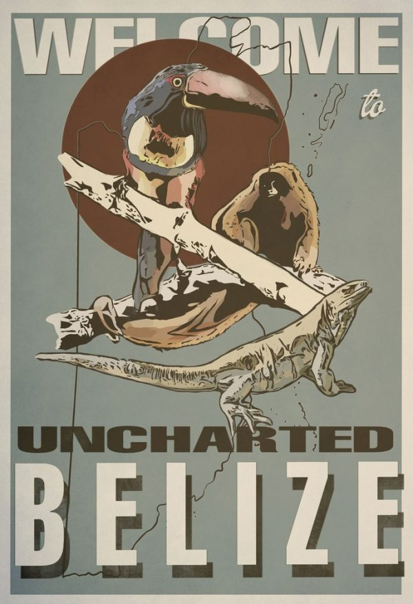 Uncharted Belize - Title : Uncharted Belize