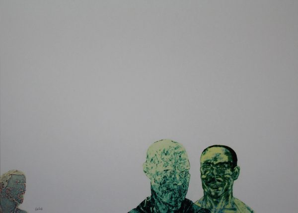 Three Men - Artist: Leon Golub (* 1922 Chicago)