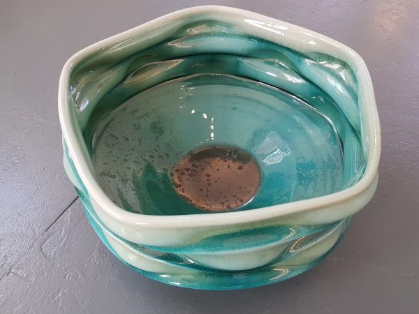 Big Bowl (aqua) - Big Bowl (aqua) - by Ben Bates