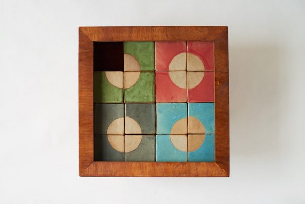 Table Top Sliding Puzzle - Artist: Abby Callaghan