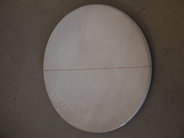 Grey Platter Charger - Terra Cotta