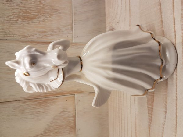 Horse Head Woman - Porcelain