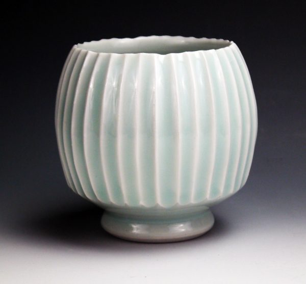 Carved Celadon Cup - Steven Young-Lee