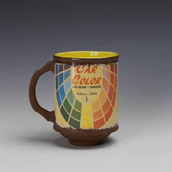 "Car Color Mug - Title : ""Car Color"" Mug"