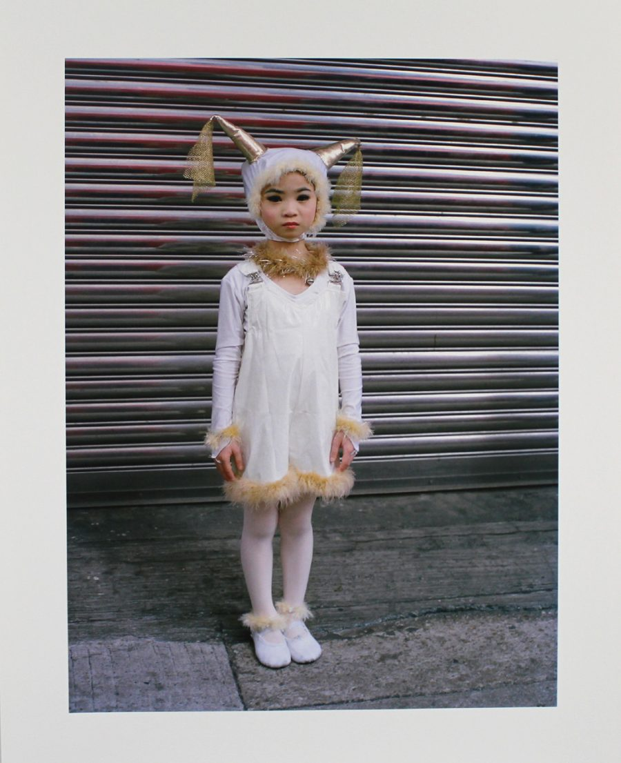 Girl in Costume