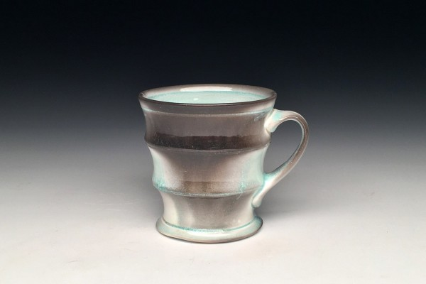 Celadon Flash Mug - Title : Celadon Flash Mug