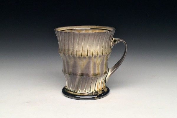 Amber Striped Mug - Title : Amber Striped Mug