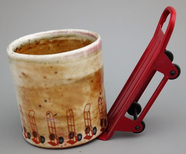 4-Wheel Dolly Cup - Yunomi