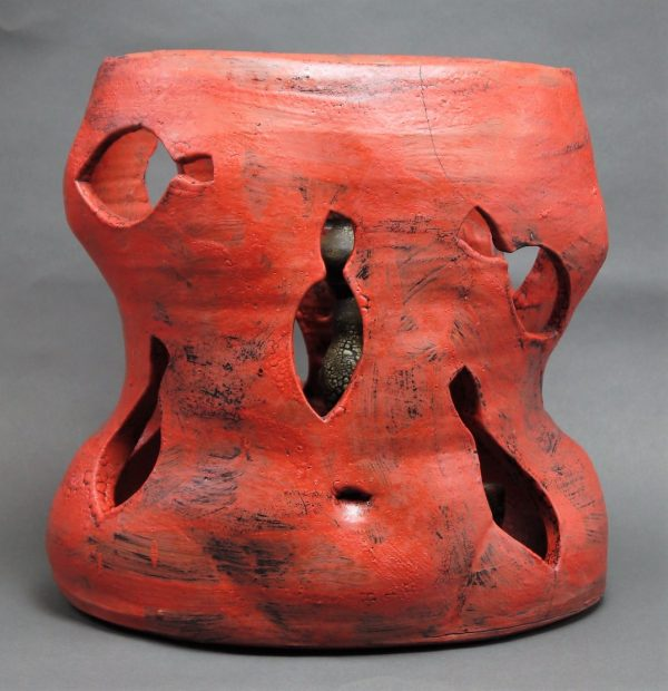Red Black (Torso) - Title: Red Black (Torso)