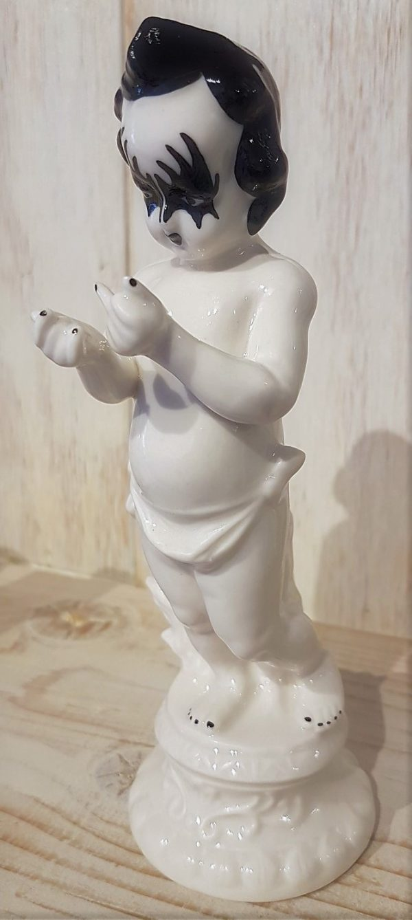 Rude Cherub (KISS Paint) - Porcelain