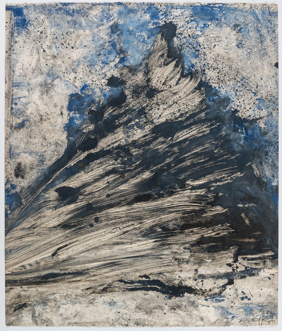 Untitled (Monotype) - Peter Voulkos