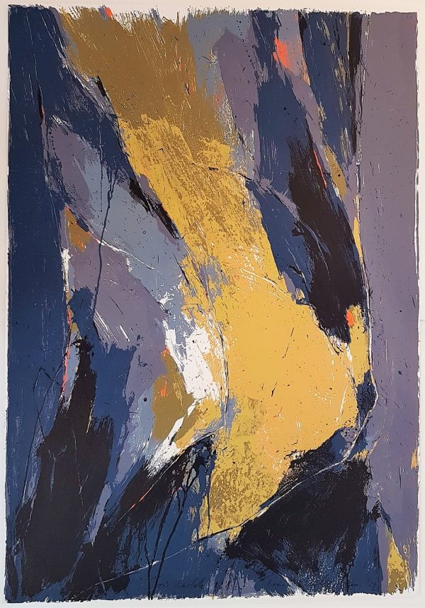 Gestural Abstract Composition - Thomas Kleemann