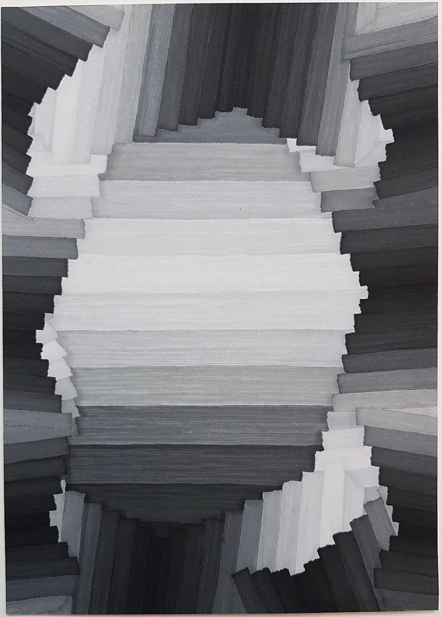 Untitled (Geometric Abstraction) - Alex Diamond