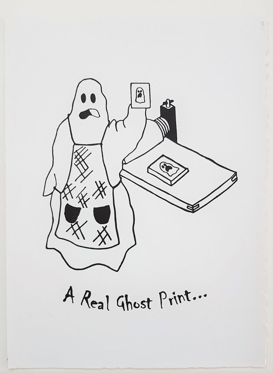 A Real Ghost Print - Alyza Perez