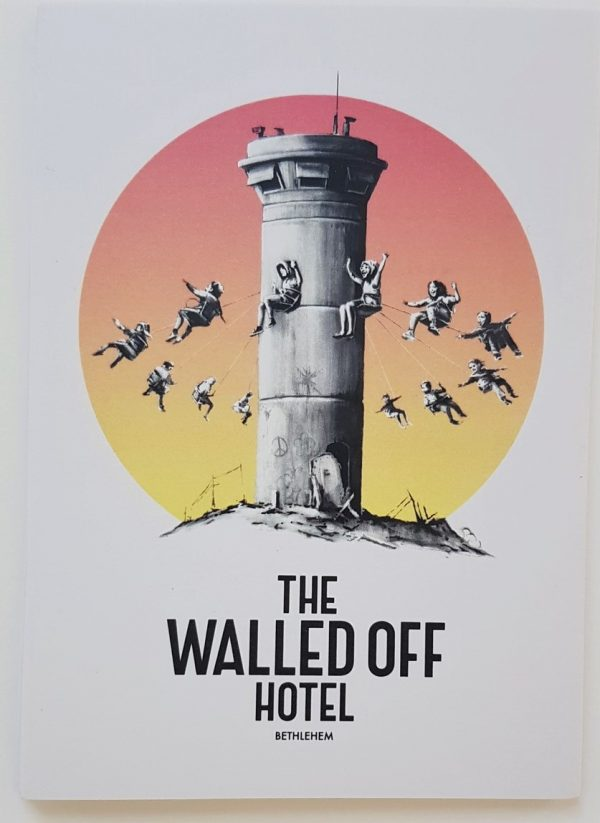 Walled Off Hotel Postcard - Banksy (et al.)