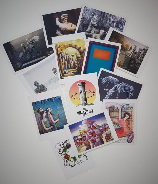 Walled Off Hotel Postcards Set - Banksy (et al.)