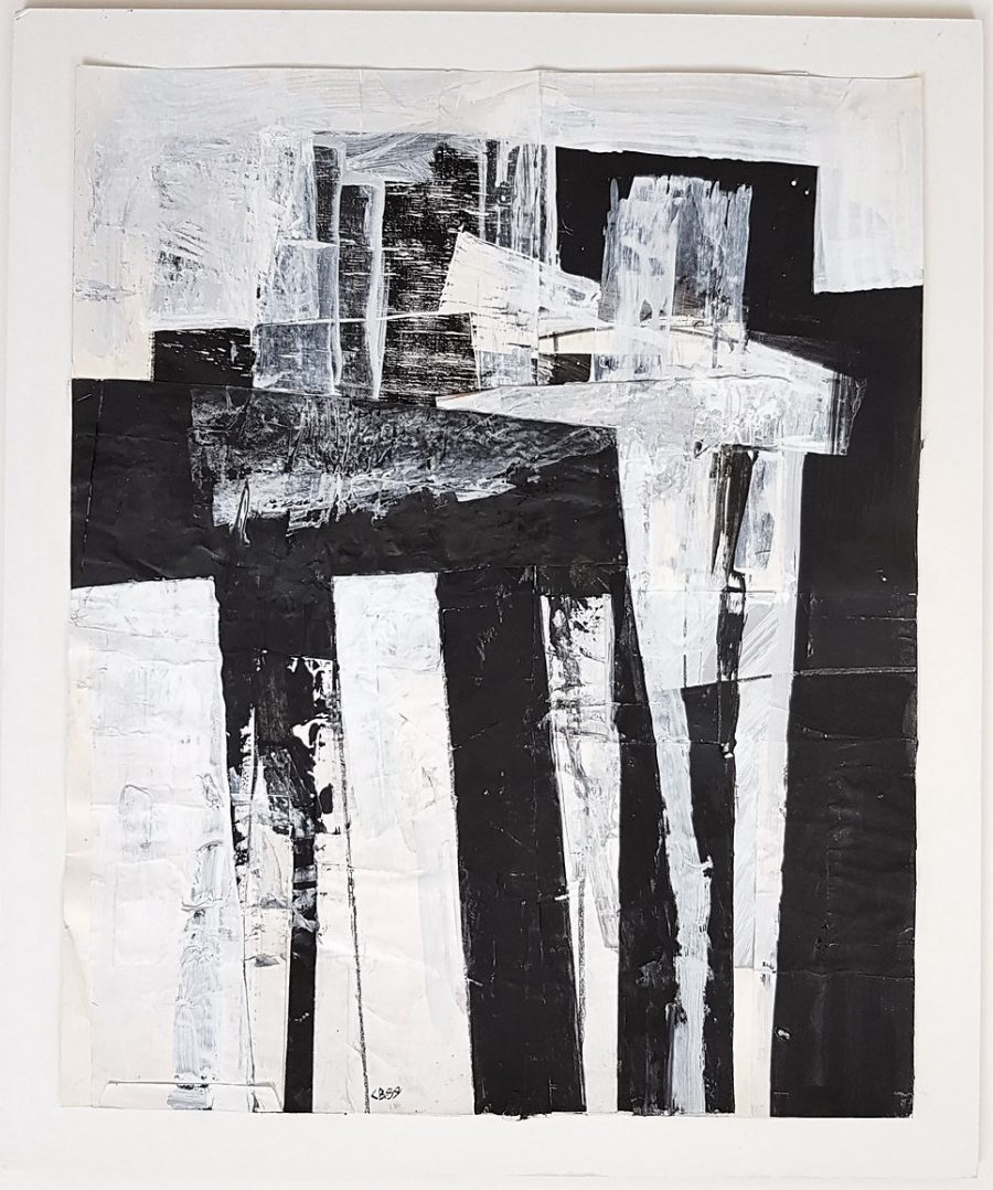 Untitled Gestural Abstraction - Claudia Busching