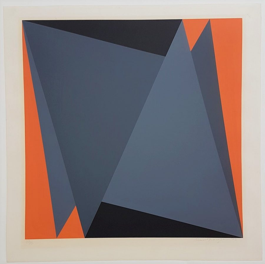 Abstract Geometric Composition - Helmut Sundhaussen