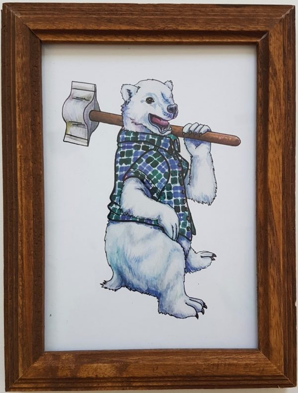 Flannel Animal Series (First Edition) - Artist: Kaitlyn Carlile