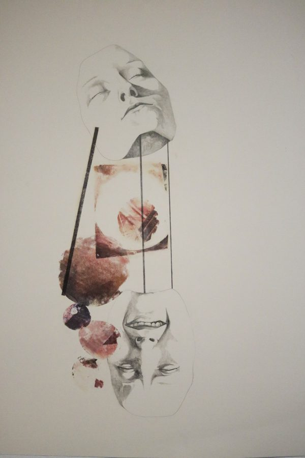 Re-composite #2 (stilt faces) - Artist: Alison Dowd