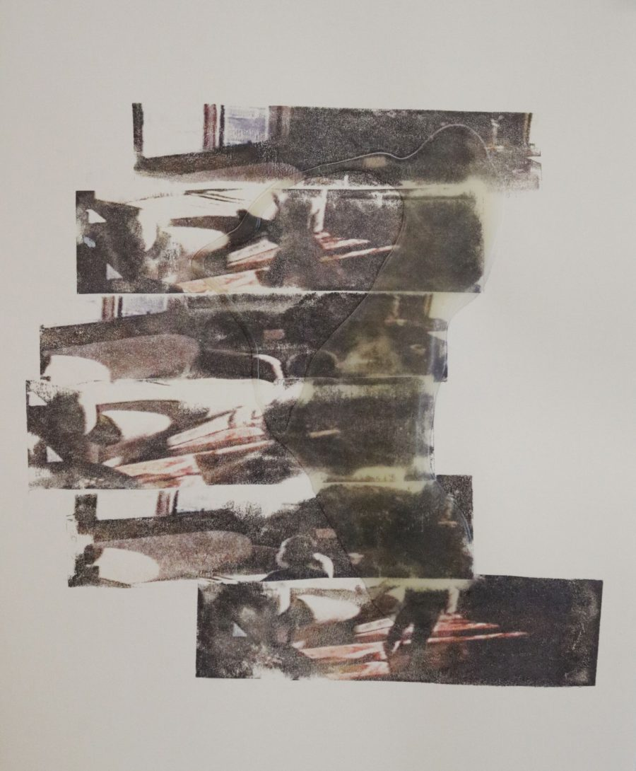 Re-composite #5 (free fall-in-g) - Artist: Alison Dowd