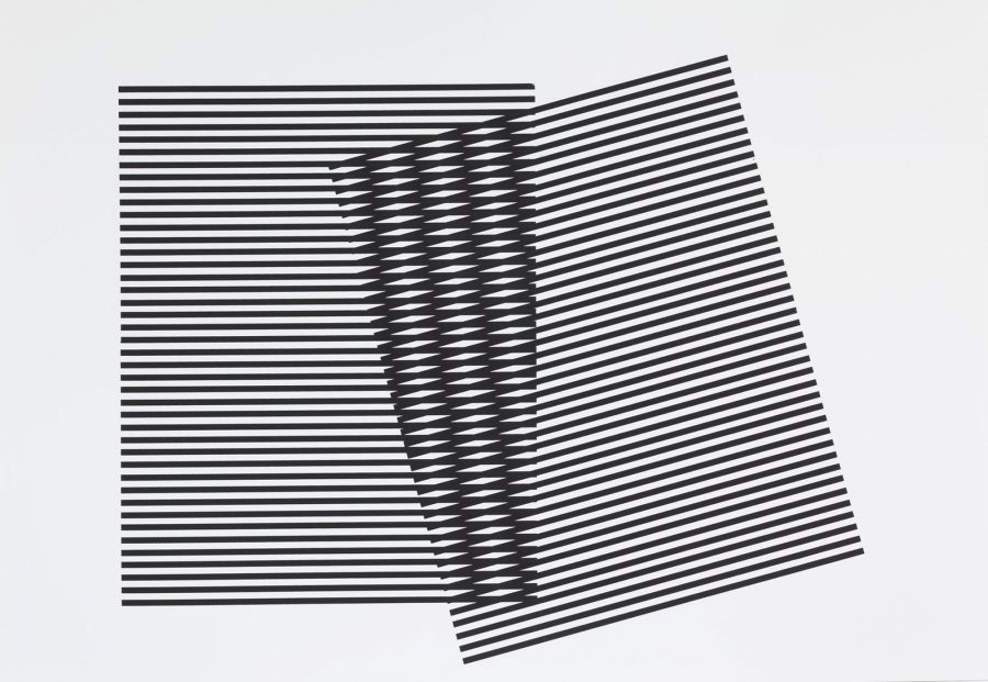 Untitled (Stripes Series I) - Leigh Suggs