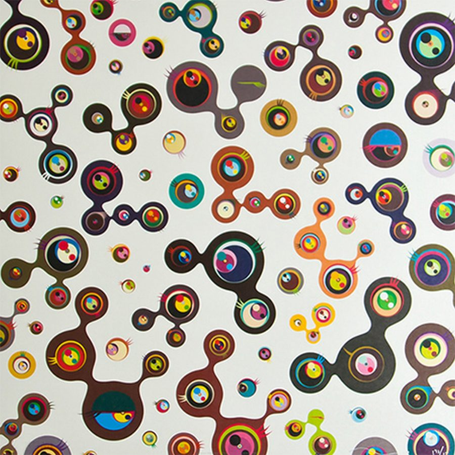 Jelly Fish Eyes White 5 - Takashi Murakami