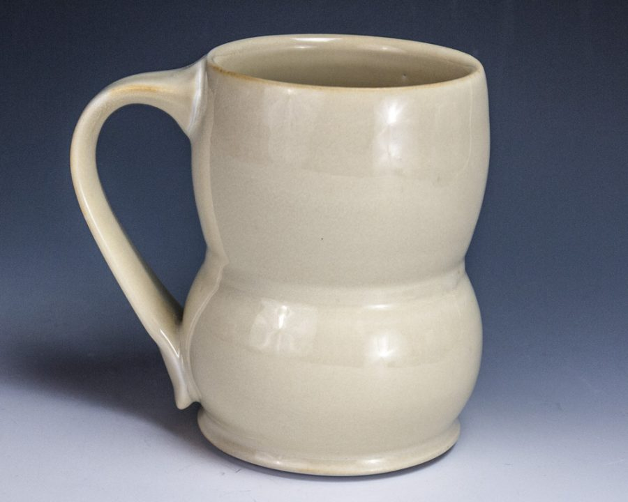 """Yellow Tall Mug - Size: 4.5"""" x 4.75"""" x 3"""" - by Steven Young Lee"""