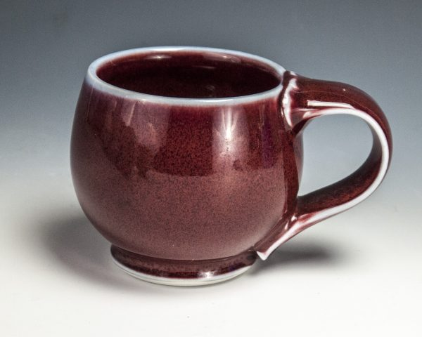 "Red Mug - Size: 3"" x 4.75"" x 3.5"" - by Steven Young Lee"