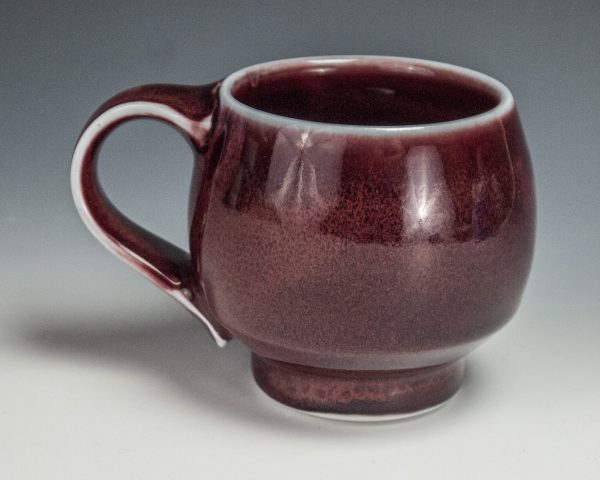 "Red Mug - Size: 3.25"" x 5"" x 3.5"" - by Steven Young Lee"