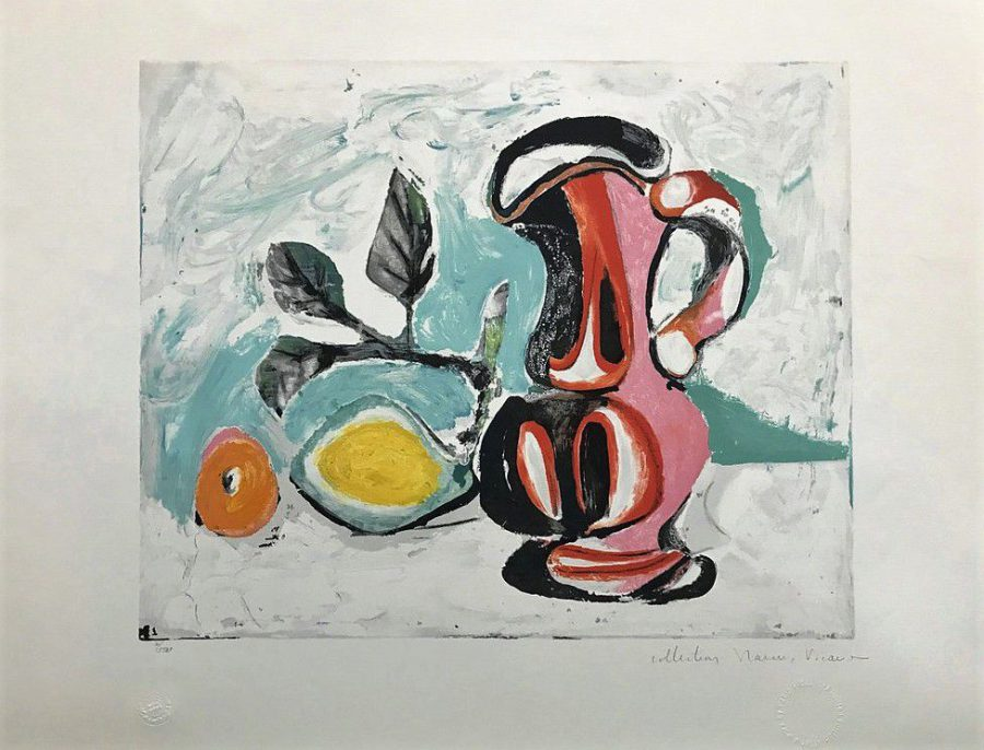 Nature Morte au Pichet Rose - Pablo Picasso