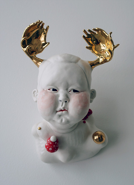 Shinnier (Chubby Face) - Materials: Porcelain
