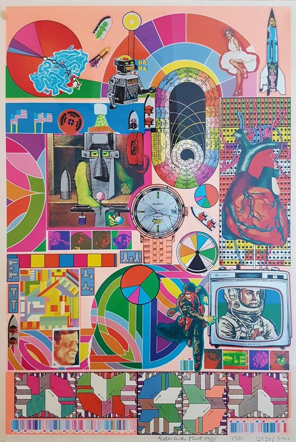 BASH (Yellow) - Eduardo Paolozzi