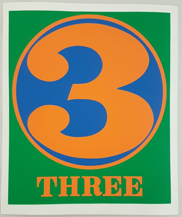 Three - Robert Indiana