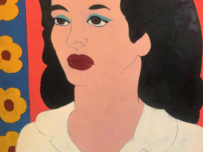 Woman in a White Blouse - Title : Woman in a White Blosue