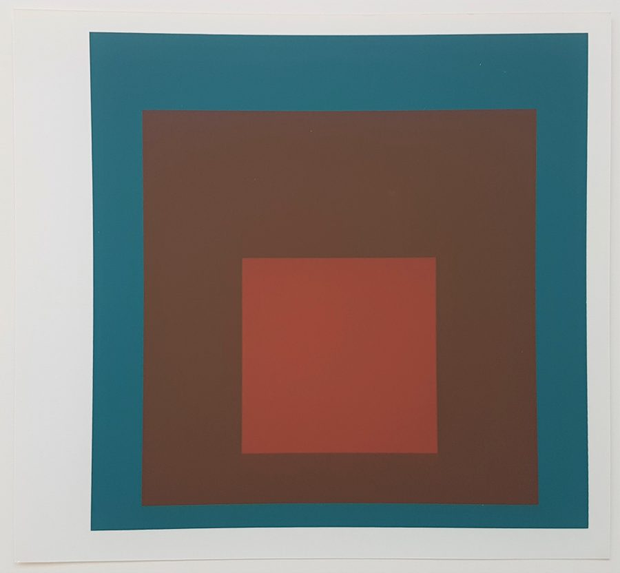 Homage to the Square - Screenprint in brilliant Colors on strong wove paper