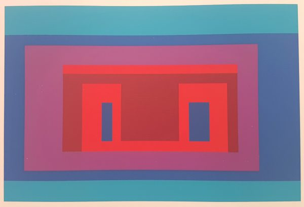 From Ten Variants No. VII and No. IX - 2 (two) Screenprints in brilliant Colors on wove paper