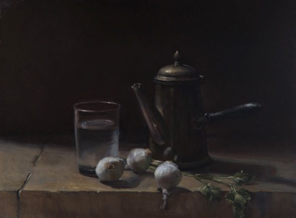 Still Life for Chardin - Anne Herrero