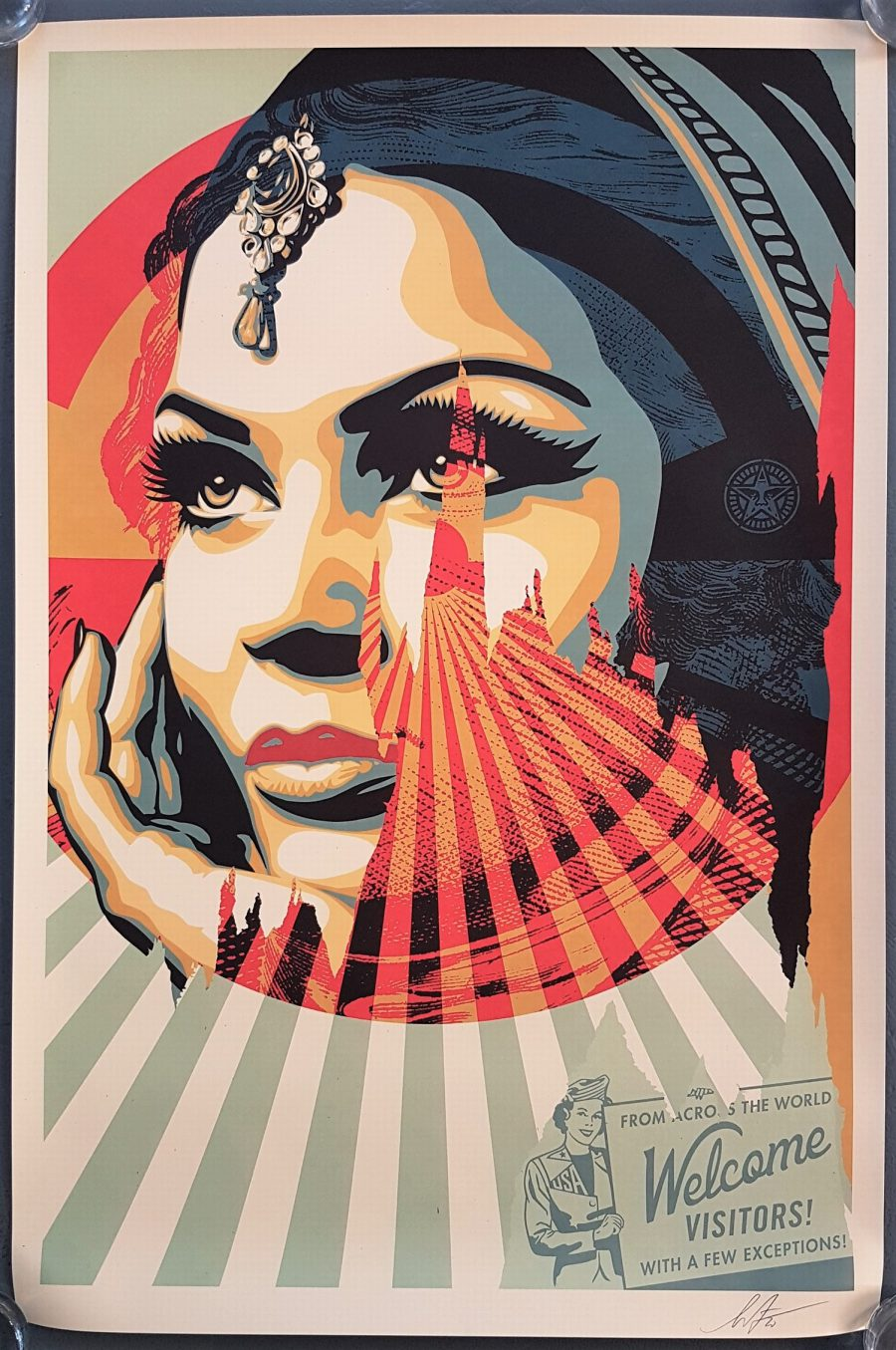 Target Exceptions - Shepard Fairey