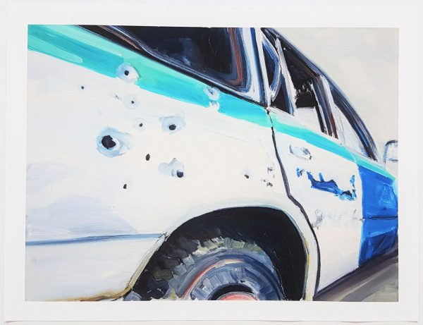 Police car - Tim Trantenroth (* 1969)