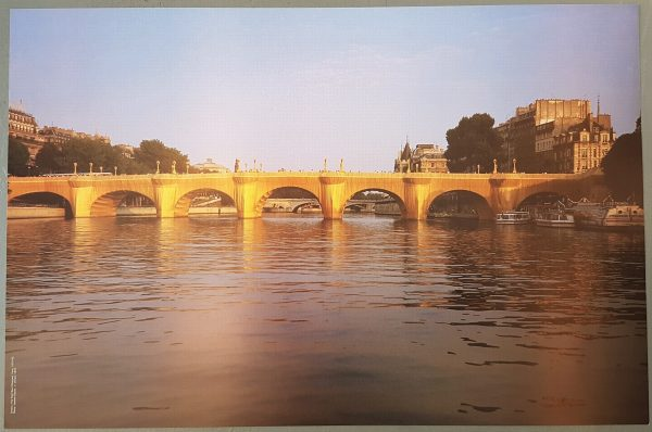 The Pont Neuf Wrapped - Christo and Jeanne-Claude