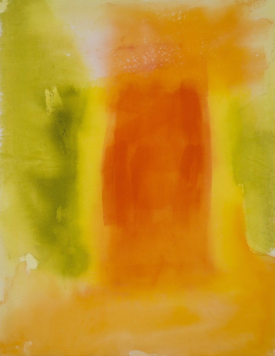Water and Light Series - Tangerine - Jane Booth