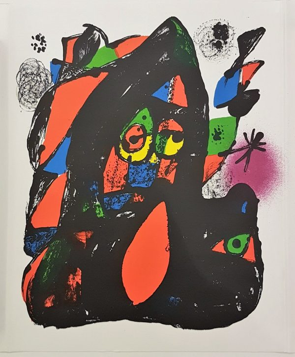 Lithographie Originale (Cover) - Joan Miró