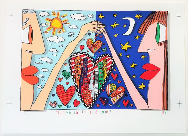 Love Is In The Air - James Rizzi