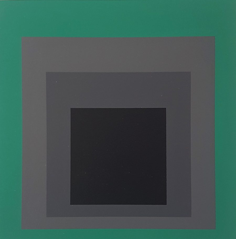 Grisaille and Patina - Josef Albers