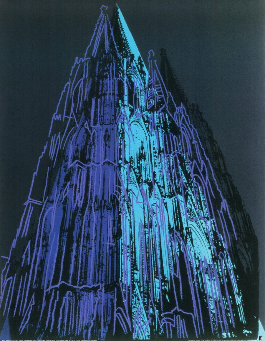 Cologne Cathedral - Andy Warhol (after)