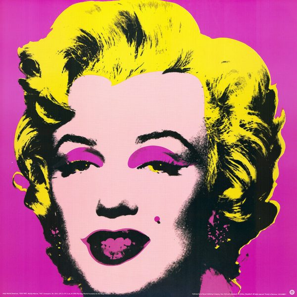 Marilyn - Pink - Andy Warhol (after)